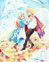 waltzing on sunshine by riysse
