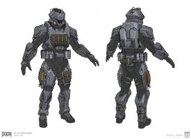 DOOM - MP Utilitarian Set 4 by emersontung