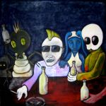 I Never Feel Alien at the Pub by MushroomBrain