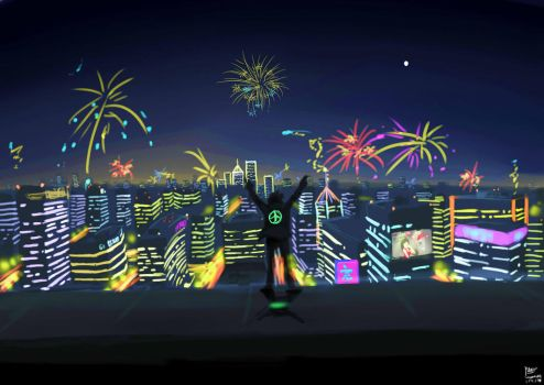 The Nights : New Year 2015 by Pioneer097