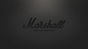 Marshall Amplification Black Wallpaper by 8168055
