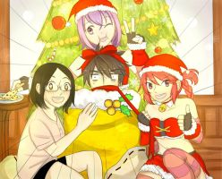 Grand Chase Xmas Contest 2013 by irodorinoaya