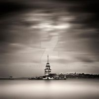 Maiden's Tower. by KeremOkay