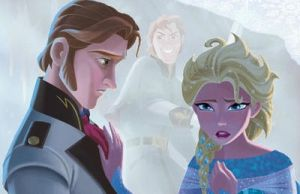 Hans and Elsa ~ Memory by evelynmckay