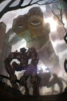 Artwork: Mechtropolis by leonardoschmidt