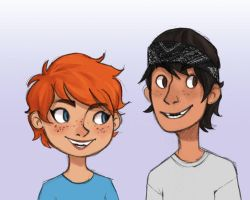 April and Casey by WinterHeath