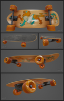 Skateboard by Hauket