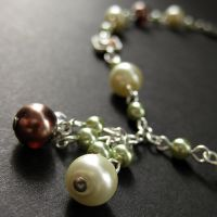 Grapes to Wine Necklace by Gilliauna