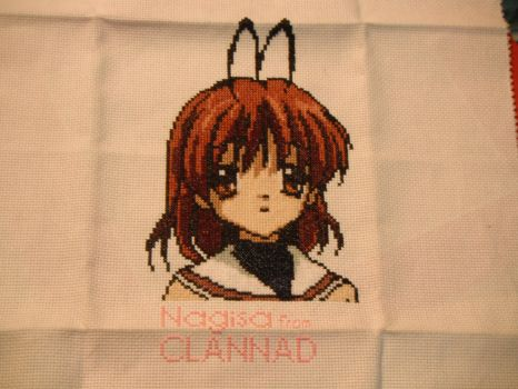 Nagisa From Clannad Close Up by dottypurrs1