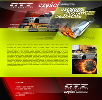Website for company selling auto parts by eeb-pl