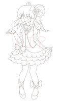 COMM Lineart by MichibanCupcakes