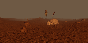 Red planet -ludum dare wip 2 by SophieHoulden