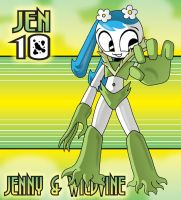 Jenny and Wildvine by XJKenny