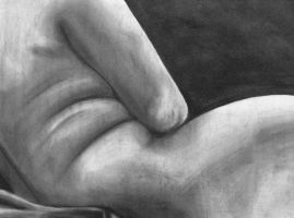 Nude Drawing-Charcoal by Ai-Don