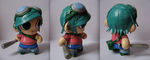 Ramona Flowers munny by sparr0