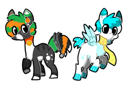 Ponies by campfyre