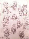 Penny Sketch Doodles by twinscover