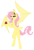Flutter Bat X by Fakkom
