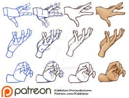 Hands Tutorial 2 by Kibbitzer