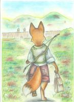Little fox by FortunataFox