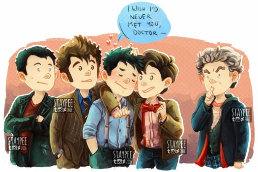 Jack and the Doctors by staypee
