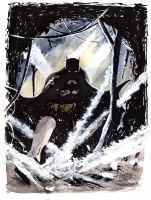 David Enebral Batman Year One by Club-Batman