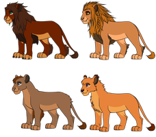 Lion Adopts/Breedables by ShockAdopt