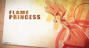 Flame Princess by MichaelthePure