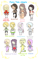 1.Fairy Tale(s) Adoptables CLOSED by coolkatadopts