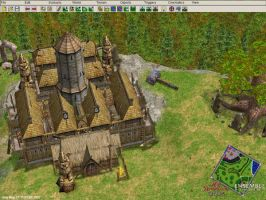 Norse hill fort 2 by redscorpion57