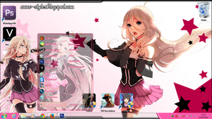 Theme IA win 7 by AnneChan34