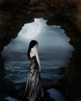 Mourning Under Moonlight by theatricalillusion