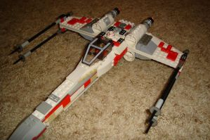 Another Custom T-65 X-Wing by Taggerung1