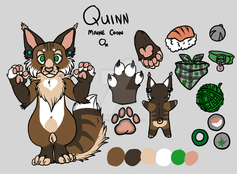 Mini Reference::Quin by LittleBoBleat
