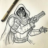 Hunter from Destiny by KobOneArt