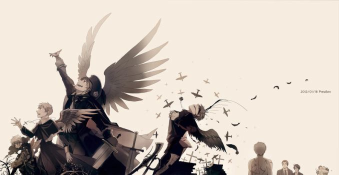 The wings of Prussia by shidouaoi