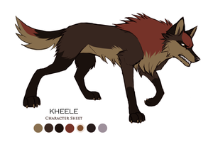 Kheele Character Sheet by HailDawn
