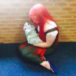 Kushina and baby Naruto cosplay. by Nina--chan