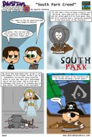 South Park Creed *Assassin's Creed III spoilers* by DairyBoyComics