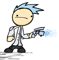 Concept Art: Tommy as scientist by Khrinx