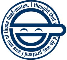 The Laughing Man Logo by motwaaagh