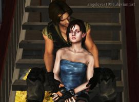 Jill and Carlos by angeleyes1991