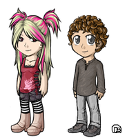 Kelli and Chris by DesiPooted