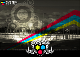 System LTD Poster by Graype