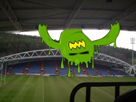 stadium monster by vishus