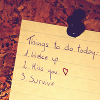 Things to do today. by AleX-IshtaR