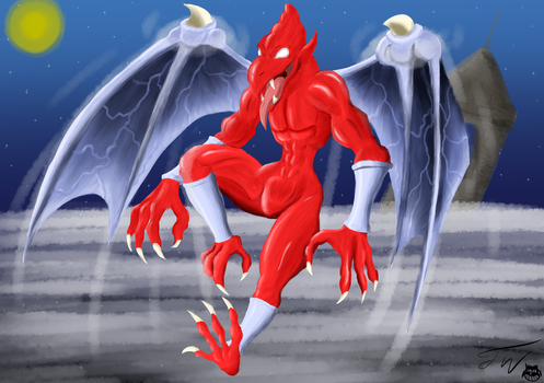 Firebrand: The Master of the Demon Crests! by ravestickman