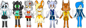Custom Adoptables by GreenToxicity