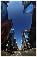 Ginza Avenue by Graphylight