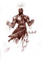 Spartan God by MadSete
